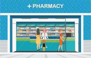 Pharmacy storefront