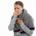 Person coughing