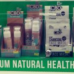 CBD product display