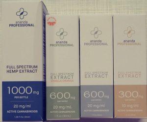 Several CBD Dosage Strengths